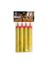 Тортовые свечи 10 см (4шт/уп)