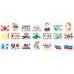 Трафареты для меловой краски waterpaint (в ассортименте) в Кирове