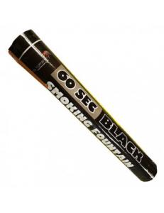 Цветной Смок Фонтан черного цвета (60 сек)
