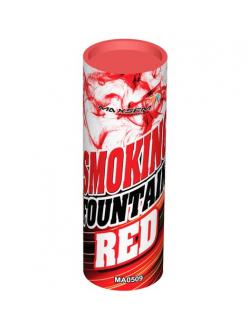 Цветной дым в Кирове (Красный)