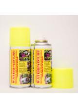 Меловая смываемая краска waterpaint желтого цвета