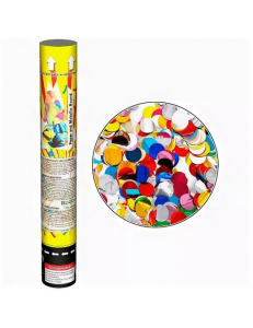 Пневмохлопушка - Maxsem - наполнение: конфетти кружки
