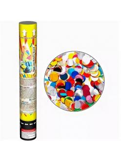 Пневмохлопушка - Maxsem - наполнение:  конфетти кружки в Кирове по низким ценам