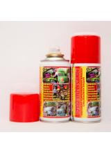 Меловая смываемая краска waterpaint красного цвета