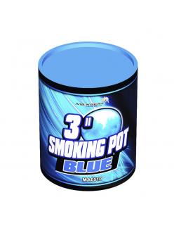 Цветной дым SMOKING POT синего цвета (60 сек)