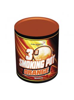 Цветной дым SMOKING POT оранжевого цвета (60 сек)