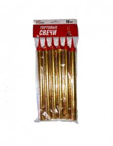 Тортовые свечи 18 см (6шт/уп)